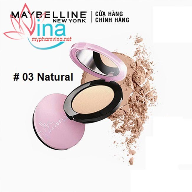 PHẤN PHỦ MỊN DA KIỀM DẦU MAYBELLINE CLEAR SMOOTH ALL IN ONE POWDER 9G - SỐ 3 - NATURAL 1